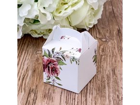 Svatební krabička na mandličky - K14-2141-01