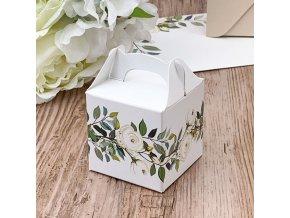 Svatební krabička na mandličky - K14-2137-01