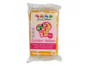Vynikající marcipán zlato žlutý 250g - FunCakes