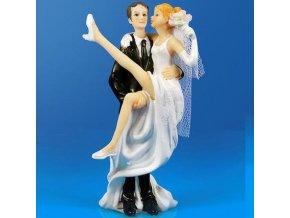 Svatební figurka - 1123 (Výška figurky 13 cm)