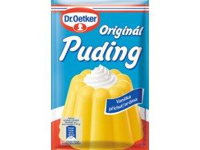 Dr. Oetker Originál puding příchuť vanilka (37 g)