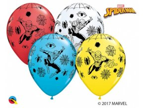 Latexové balonek Spiderman 30 cm