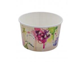 Kelímek papírový na zmrzlinu 230 ml (fruttart) 180 ks/bal