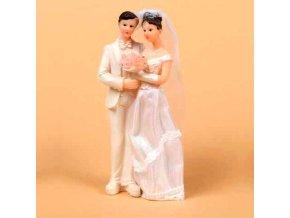 Svatební figurka - 8322 (Výška figurky 15 cm)