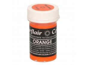 Pastelová gelová barva SGF - Orange