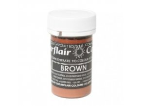 Pastelová gelová barva SGF - Brown