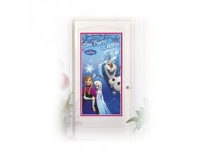 Plakát na dveře - Frozen