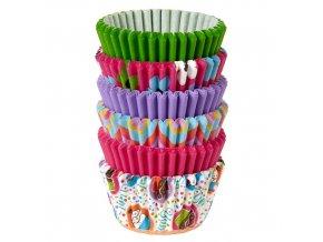 Wilton, USA Košíčky malé WILTON 150ks - Pink Multicolor