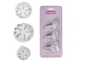 Cukrářské pomůcky Culpitt - květina 3 ks