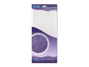 PME, Velká Británie Otiskovací podložka PME - Rose Design