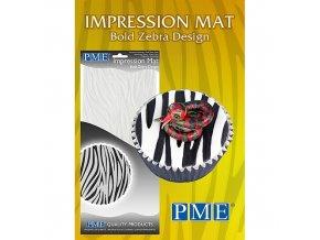 PME, Velká Británie Otiskovací podložka PME - Bold Zebra