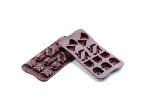 Forma na čokoládu Silikomart - Fashion