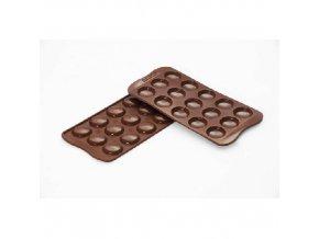 Forma na čokoládu Silikomart - Choco Macarons