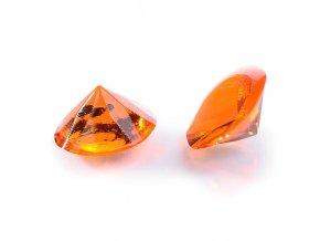Modecor, Itálie Jedlé diamanty Modecor 20 ks - oranžové (Složení Zvlhčovadlo: E422, voda, glukózový sirup, hovězí želatina, regulátor kyselosti: E330, konzervant: E202, barviva: E129 a E122 (mů)