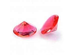 Modecor, Itálie Jedlé diamanty Modecor 20 ks - červené (Složení Zvlhčovadlo: E422, voda, glukózový sirup, hovězí želatina, regulátor kyselosti: E330, konzervant: E202, barviva: E129 a E122 (mů)