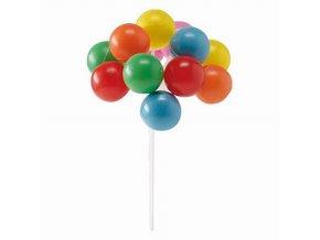 Zápich na dort - balónky