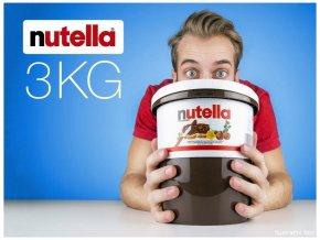 Nutella, jediný original na světě 3kg (bílý kyblík)
