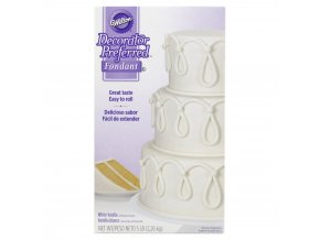wilton decorator preferred white ready to use fondant 2 27kg 5lbs 41e