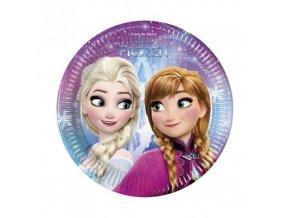 Party papírové talířky Frozen Severní záře 20 cm