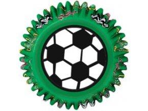 Košíčky Wilton 50 x 32 mm - Fotbal