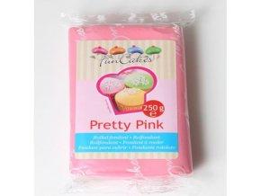 funcakes potahovy fondan pretty pink ruzova 250g