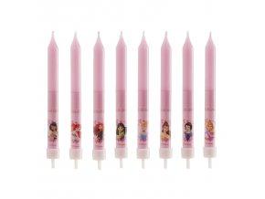 display 12 birthday candles princess 9cm (3)