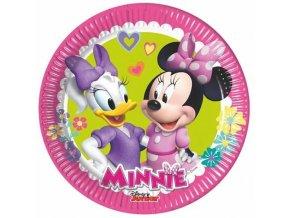 Papírové talířky Minnie Happy Helpers 20 cm 8 ks