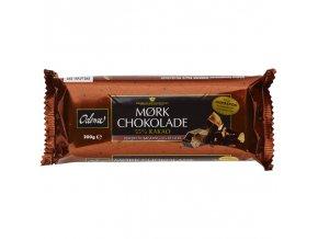 Pravá TMAVÁ 55% čokoláda - tabulka (200 g), Dánsko