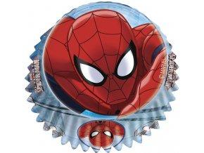 Krásné cukrářské košíčky - Spiderman - 60ks