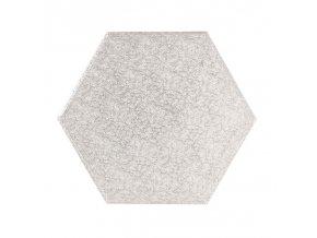 """Tác z Anglie PEVNÝ stříbrný šestiúhelník 30,4 cm 12"""""""