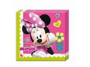 Papírové party ubrousky Minnie Happy Helpers 20 ks