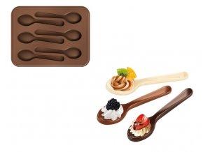 Forma na čokoládu DELÍCIA CHOCO, lžičky