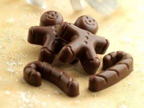 Silikonová forma na čokoládu – pan perníček