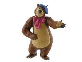 dekoracni figurka masa a medved medved malir