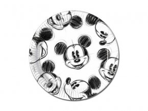 MICKEY FACES PLATES