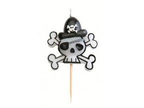 """Svíčka """"pirát"""""""
