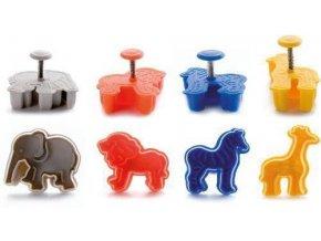 Plastová vykrajovátka Africká zvířata set – 4ks
