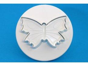Motýlek na pérku - velký 6 cm