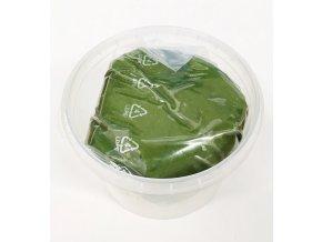 Plastická čokoláda tmavě zelená (250 g)