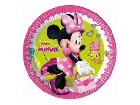Papírové talíře Minnie Happy Helpers 23 cm 8 ks