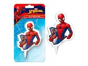 Dortová svíčka Spiderman