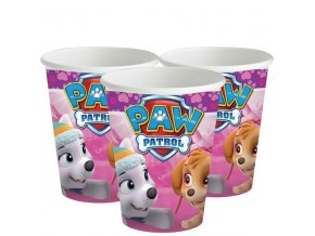 pink paw patrol party tableware cups 6
