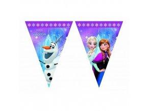 Frozen Eiskoenigin Wimpel Banner Nordlichter 82156