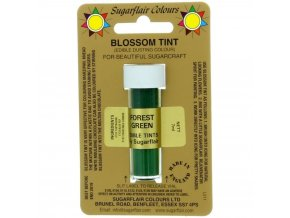 sugarflair blossom tint edible dust food colouring sugarcraft powder colour 7ml forest green p1491 2105 image