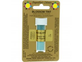 sugarflair colours eucalyptus blossom tint dusting colour 7ml vial p1791 7288 image