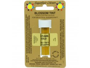 sugarflair colours autumn gold blossom tint dusting colour 7ml vial p1773 7177 image