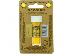 sugarflair colours lemon yellow blossom tint dusting colour 7ml vial p1777 7201 image