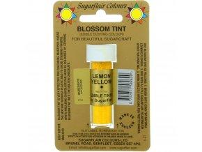 sugarflair colours lemon yellow blossom tint dusting colour 7ml vial p1777 7201 image