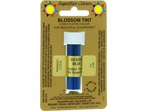 sugarflair colours ocean blue blossom tint dusting colour 7ml vial p1802 7350 image