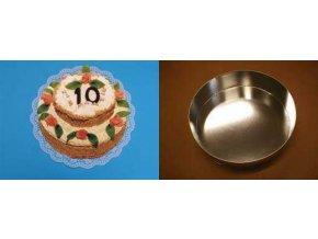 Forma na dort - kruh 22 cm